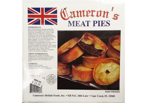 Cameron's Meat Pies