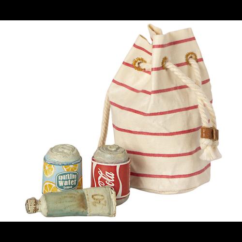 Maileg Beach bag W/ Essentials