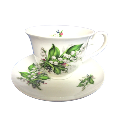 Lily of the Valley Cup & Saucer