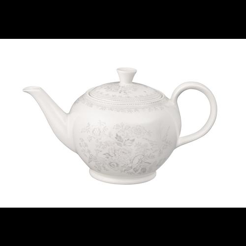 Burleigh Pottery Dove Grey Asiatic Pheasant Large Teapot