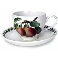 Portmeirion Pomona Teacup w Saucer - Princess of Orange Pear