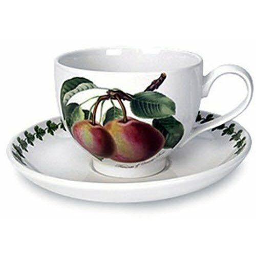 Portmeirion Portmeirion Pomona Teacup w Saucer - Princess of Orange Pear