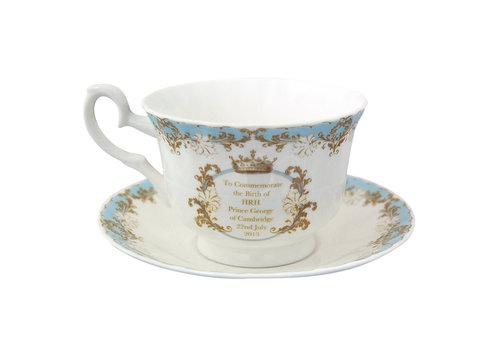 Prince George Cup & Saucer