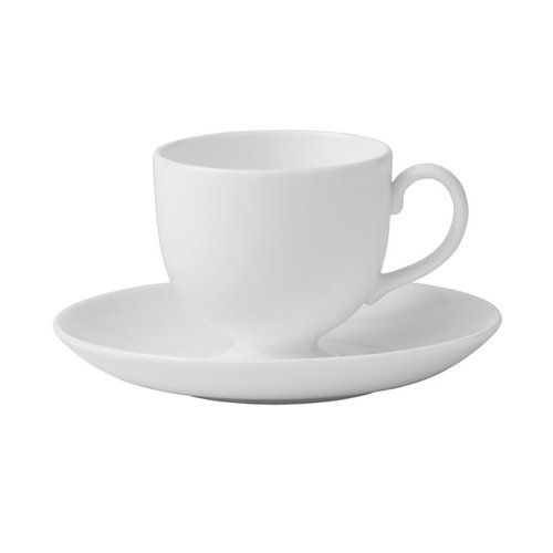 Wedgwood Wedgewood White Teacup and Saucer