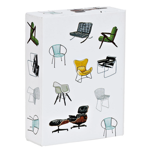 Midcentury Modern Chairs Playing Cards
