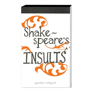 Shakespeare Insults Notepad
