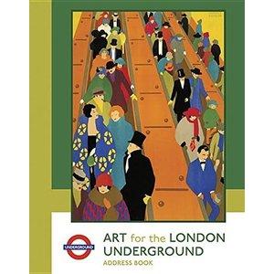 Pomegranate Art for the London Underground Address Book