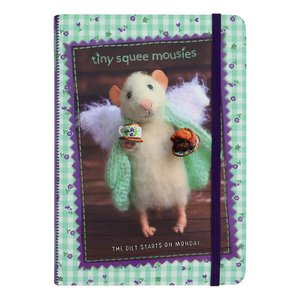 Santoro London Tiny Squee Mousies Hardcover Notebook