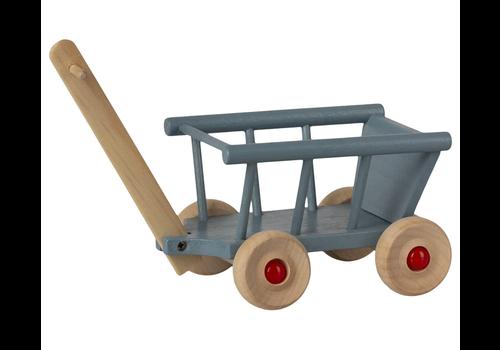 Maileg Blue Wagon