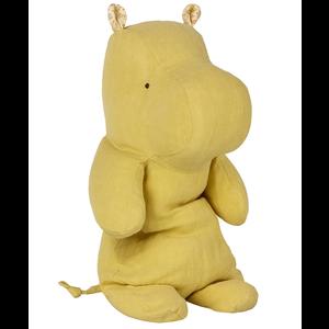 Maileg Medium Hippo - Lime Yellow
