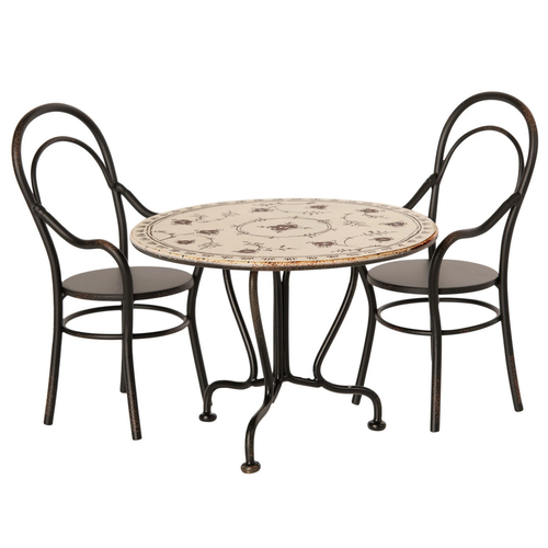 Maileg Mini Dining Table and 2 Chairs