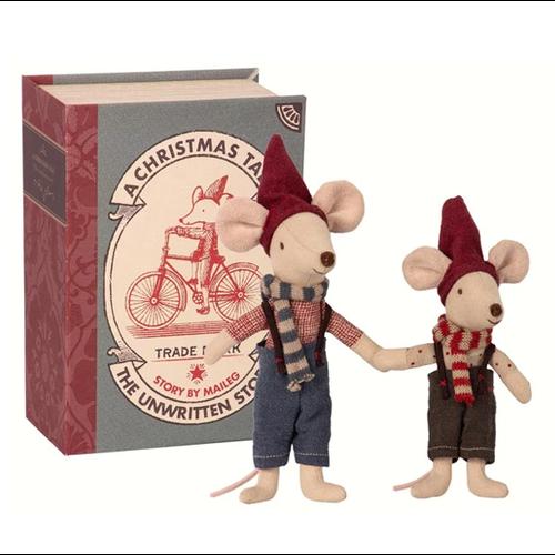 Maileg Maileg Christmas Mice in Book