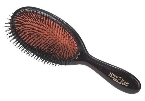 Mason Pearson B2 Small Extra Pure Bristle Dark Ruby Hairbrush