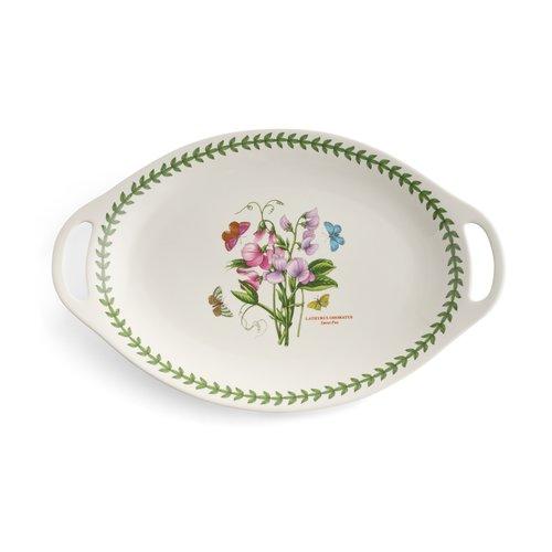 Portmeirion Botanic Garden Handled Oval Platter