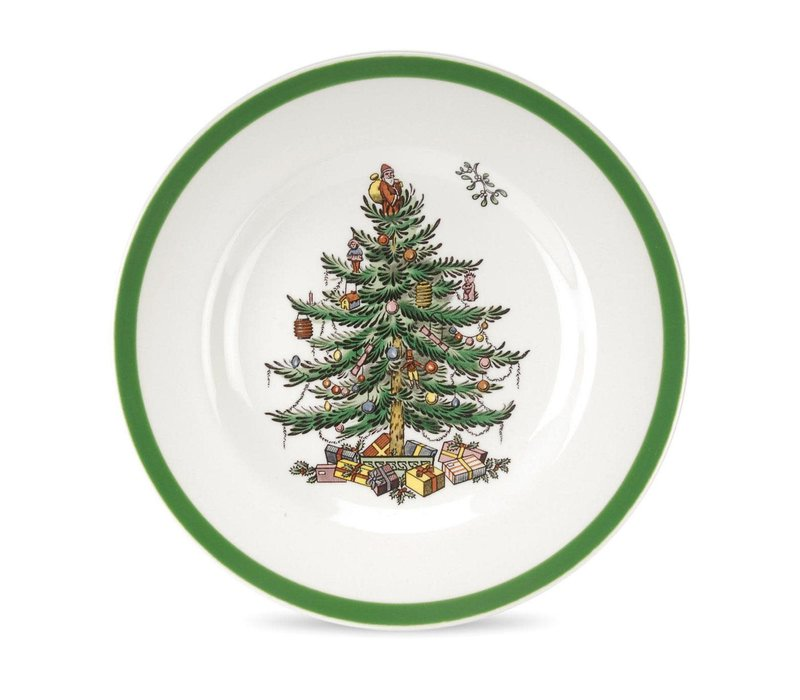 Christmas Tree Bread & Butter Plate