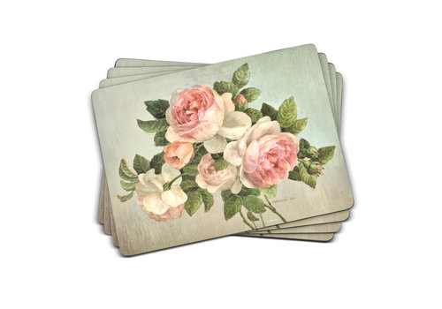 Pimpernel Antique Rose Placemats