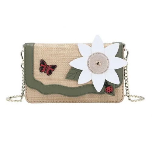 Vendula Daisy Garden Bee Crossbody Bag