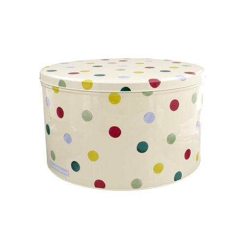 Emma Bridgewater Polka Dot Cake Tin Medium