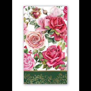 Michel Design Works Royal Rose Hostess Napkins