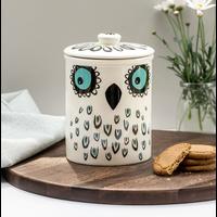 Storage Jar Owl