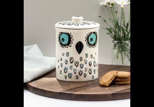 Hannah Turner Storage Jar Owl