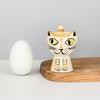Hannah Turner Egg Cup Cat Ginger Tabby