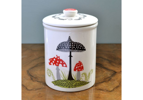 Hannah Turner Storage Jar Toadstool