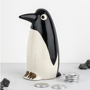 Hannah Turner Money Box Penguin