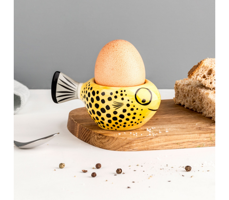Egg Cup Fish Yellow