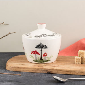 Hannah Turner Toadstool Small Pot with Lid