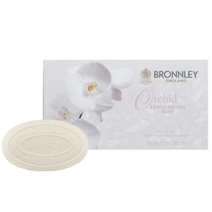 Bronnley Orchid Triple-Milled Soap Set of 3