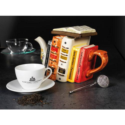 Carters of Suffolk Jane Austen Books Teapot