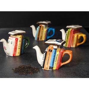 Carters of Suffolk 1 Cup Books Teapot - Jane Austen