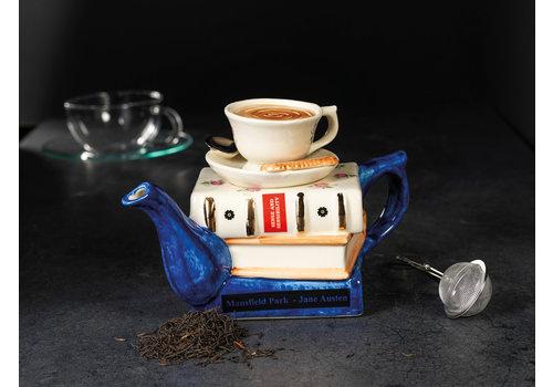 Carters of Suffolk Books and Tea Teapot - Jane Austen