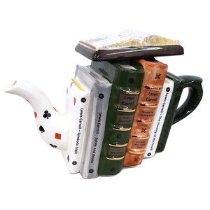 Carters of Suffolk Lewis Carroll Books Teapot