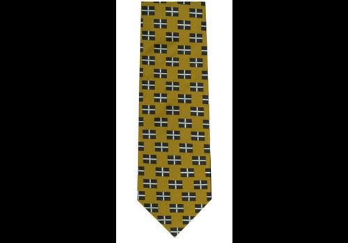 The Tie Studio Cornish Piran Flag Tie