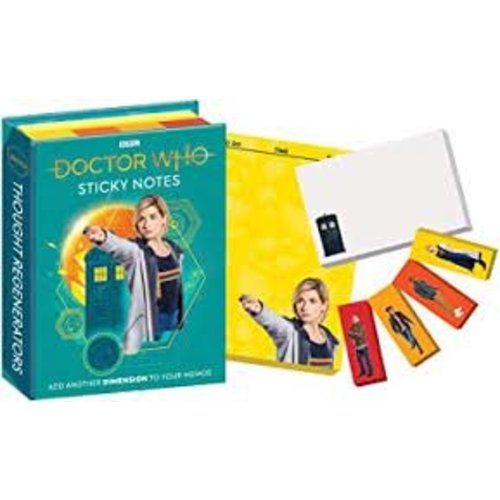 Dr Who Sticky Notes