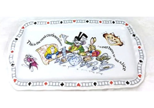 Alice in Wonderland Curious Tea Party Tray