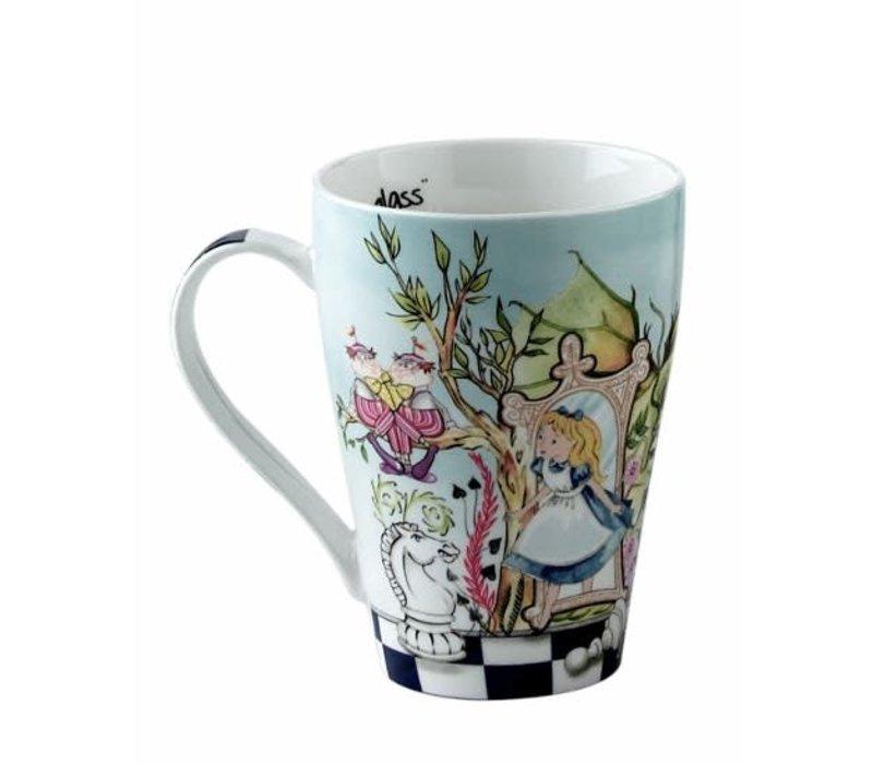 Alice in Wonderland Mug - Through the Looking Glass