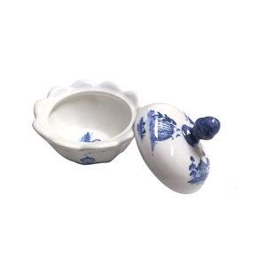 Isis Ceramics Isis Blue Palladian Sugar Bowl