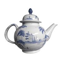 Isis Blue Palladian Teapot