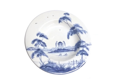 Isis Ceramics Blue English Garden Tea Plate