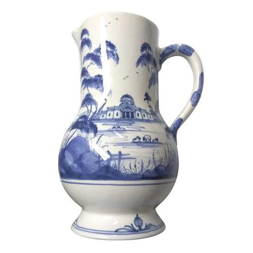 Isis Ceramics Blue Palladian Serving Jug