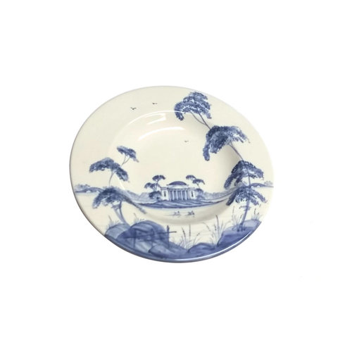 Isis Ceramics Isis Blue English Garden Tea Plate