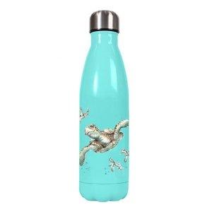 Wrendale Sea Turtle Metal Water Bottle