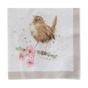 Wrendale Garden Birds Napkins Luncheon