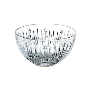 """Waterford Winter Wonders Midnight Frost 8"""" Bowl"""