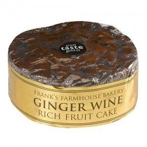 Ginger Wine Fruit Cake