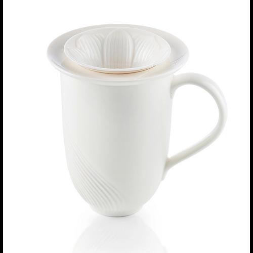Alison Appleton Ren Fine Porcelain Mug w/ Infuser