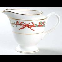 Royal Worcester Holly Ribbons Cream Jug L/S